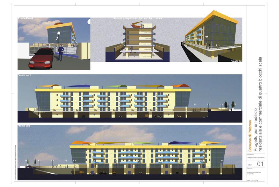 Edifici residenziali e commerciali