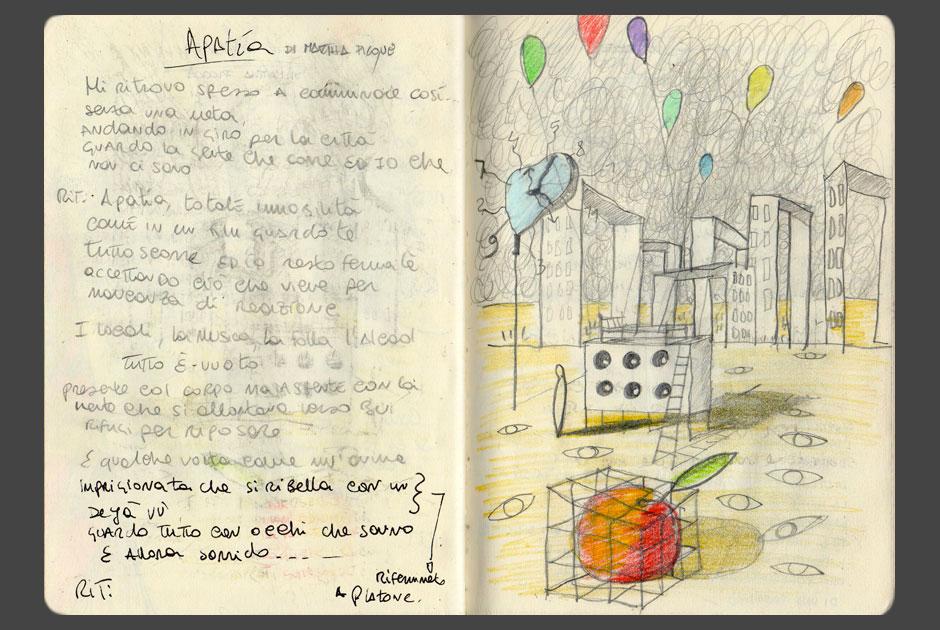 Sui testi di Martha Picone