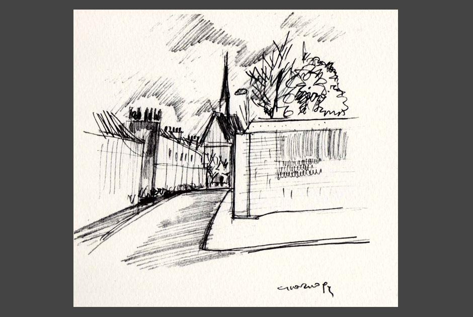 Londra dalla stanza di W.Turner