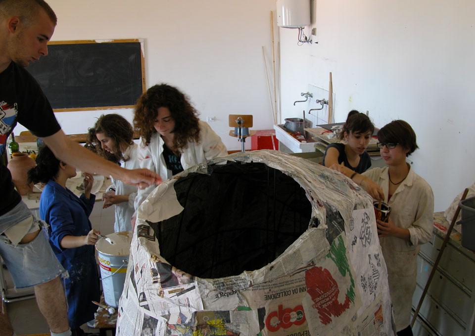 Installazione Teatro Pollina (Provincia di Palermo)