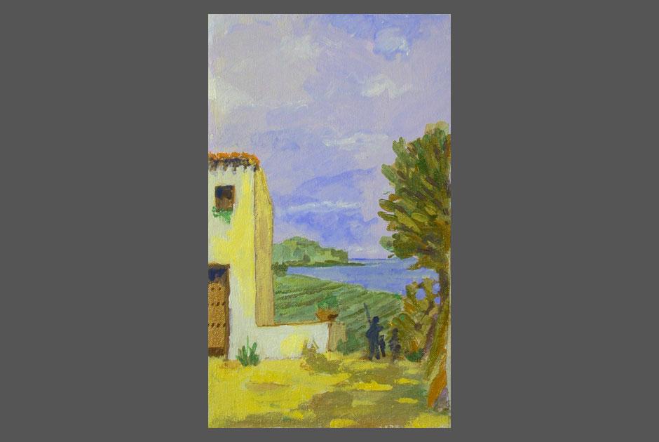 Palermo - Dipinto di Giorgio Gristina