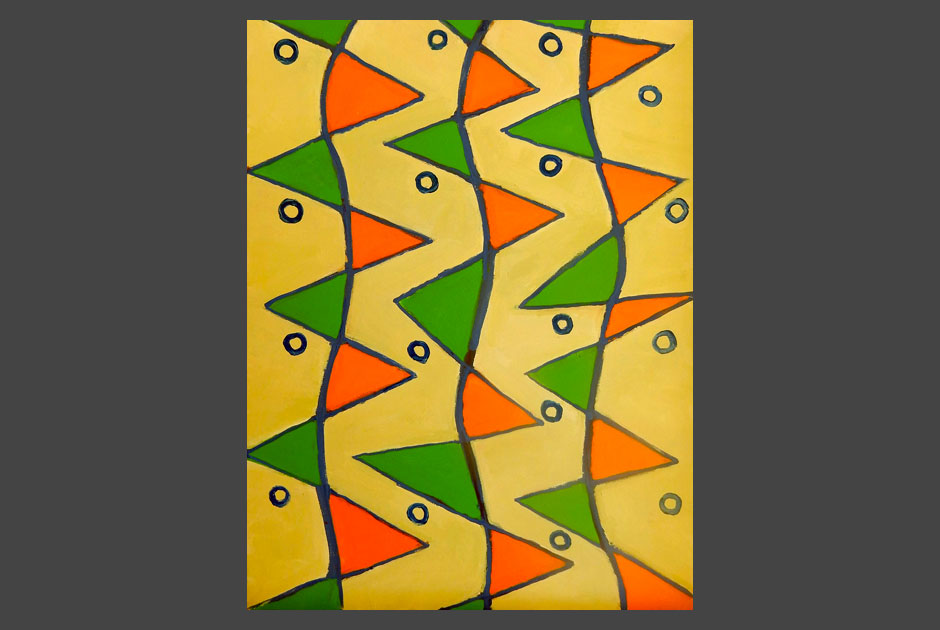 Verde e arancio